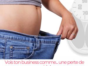 Vois ton business comme… une perte de poids !